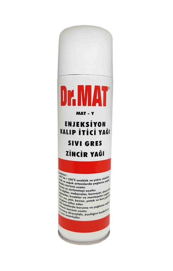 Dr.MAT Kalıp İtici Yağı – Sıvı Gres – Zincir Yağı