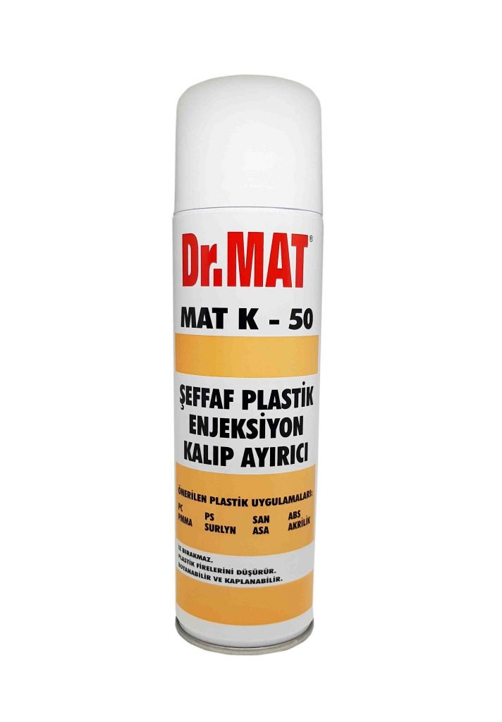 Dr.MAt Şeffaf Plastik Kalıp Ayırıcı Sprey