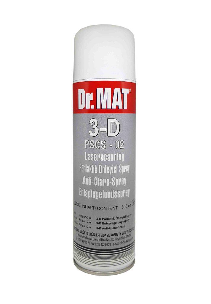 Dr.MAT 3D Parlaklık Önleyici Sprey Anti Glare Spray PSCS-02
